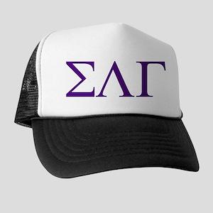 Sigma Lambda Gamma Greek Letters Trucker Hat