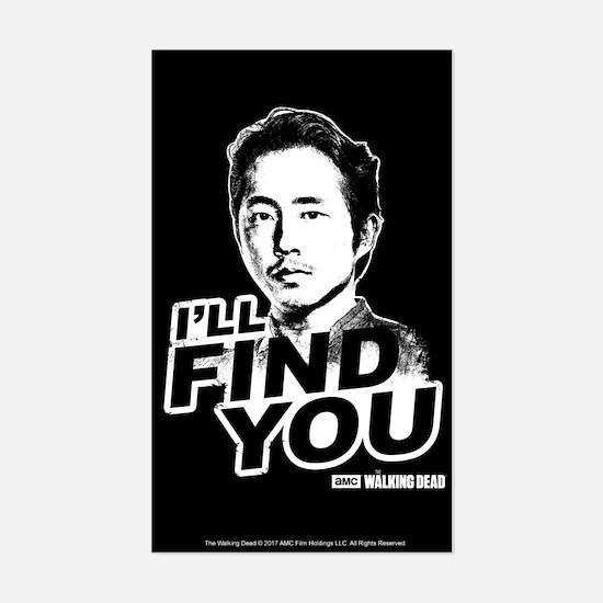 Glenn's Last Words Sticker (Rectangle)