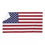 American Flag Beach Towel --