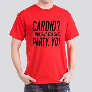 Cardio Party Yo Dark T-Shirt
