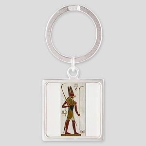 Montu God Of War Square Keychain Keychains