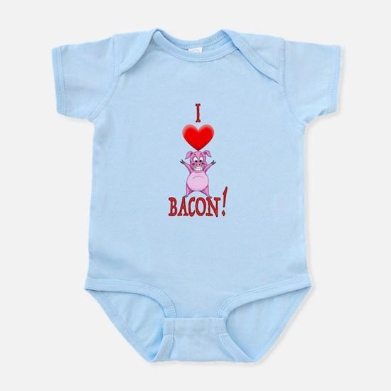 I Love Bacon! Body Suit