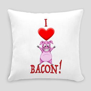 I Love Bacon! Everyday Pillow