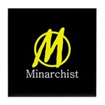Minarchist Tile Coaster