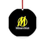Minarchist Ornament (Round)