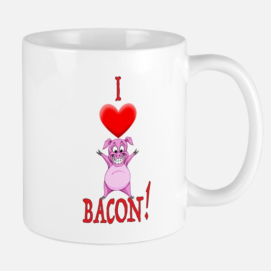I Love Bacon! Mugs