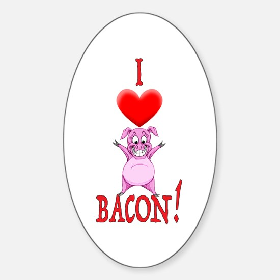 I Love Bacon! Decal