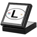 Luxembourg Euro Oval Keepsake Box