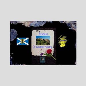 Scottish Beauty. Rectangle Magnet