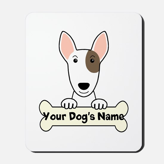 Personalized Bull Terrier Mousepad