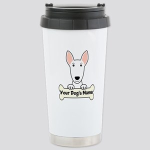 Personalized Bull Terri Stainless Steel Travel Mug