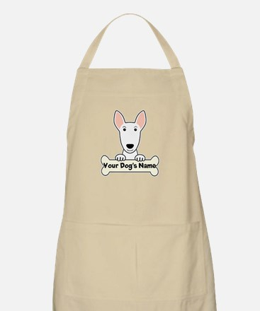 Personalized Bull Terrier Apron
