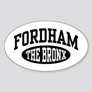 Fordham The Bronx Sticker (Oval)
