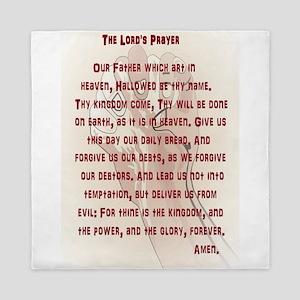 The Lord's Prayer Queen Duvet