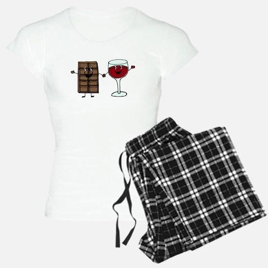Chocolate and Wine Pajamas