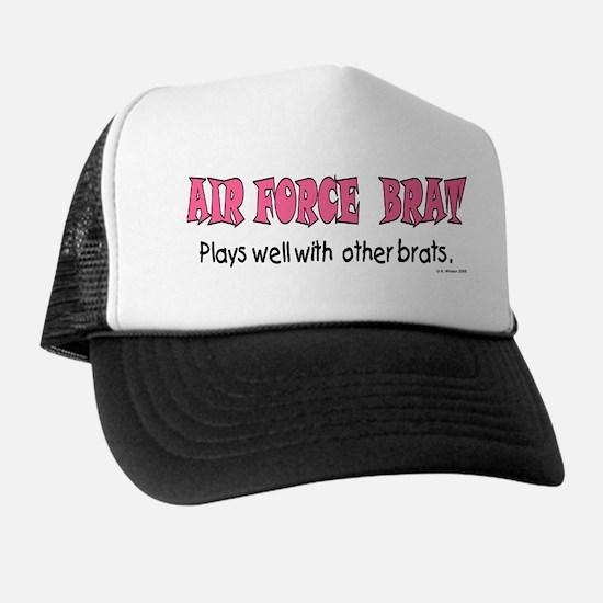 Air Force Brat Plays well .. Trucker Hat