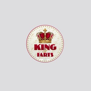 KING of FARTS Mini Button