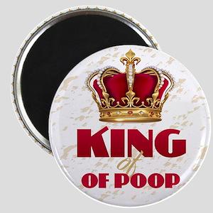KING of POOP Magnets