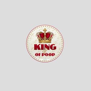 KING of POOP Mini Button