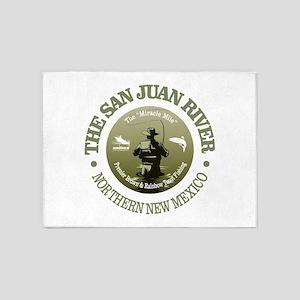 San Juan River 5'x7'Area Rug