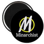 """Minarchist 2.25"""" Magnet (100 pack)"""