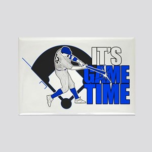 It's Game Time - Baseball (Blue) Magnets