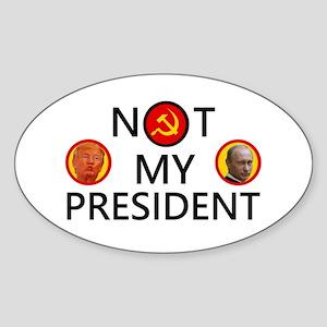 Putin Is Not My President Sticker (Oval)