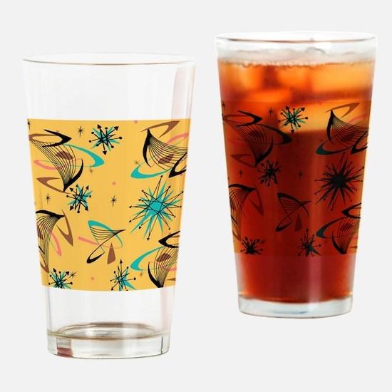 Mid Century Modern Pattern Drinking Glass