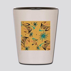 Mid Century Modern Pattern Shot Glass