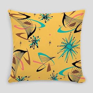 Mid Century Modern Pattern Everyday Pillow