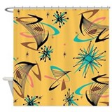 Boomerang Shower Curtains