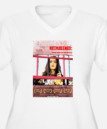 Dostoevsky Re-Imagined - Poster Plus Size T-Shirt
