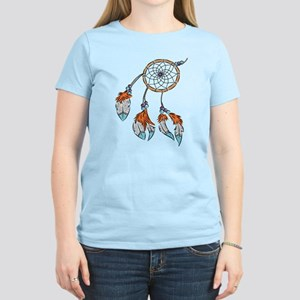 Modern watercolor boho dreamcatcher feathers T-Shi