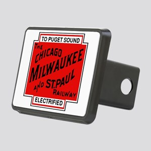 Milwaukee Road Puget Sound Rectangular Hitch Cover