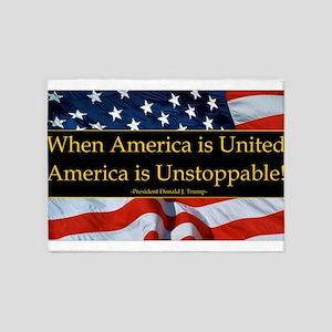 United America Quote 5'x7'Area Rug