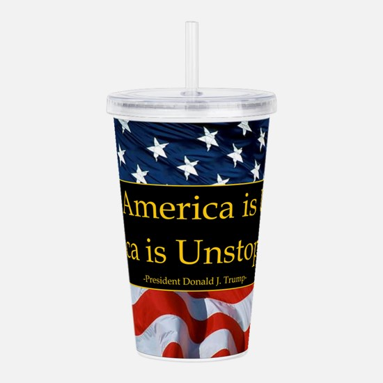 United America Quote Acrylic Double-wall Tumbler