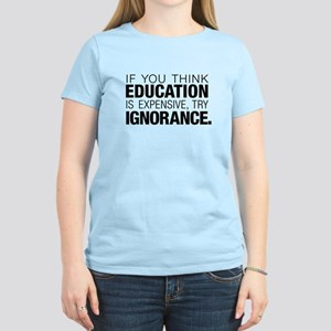 Education Is Expensive Women's Light T-Shirt