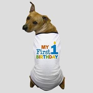 Boy's My First Birthday Dog T-Shirt