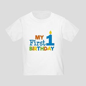 Boys My First Birthday T Shirt