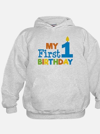 Boy's My First Birthday Sweatshirt