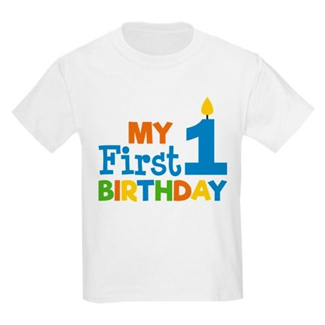 Kids T Shirts Boy39s My First Birthday