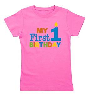 1st Birthday Girls Classic T Shirts