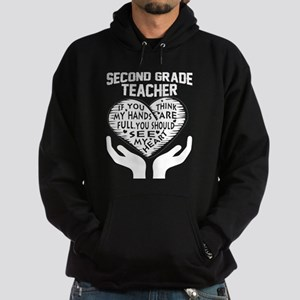 2nd Grade Teacher Sweatshirt