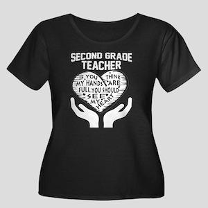 2nd Grade Teacher Plus Size T-Shirt