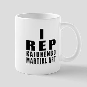I Rep Kajukenbo Martial Arts 11 oz Ceramic Mug