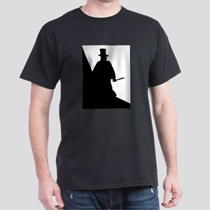 Jack the Ripper Background Silhouette T-Shirt