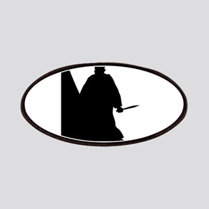 Jack the Ripper Background Silhouette Patch