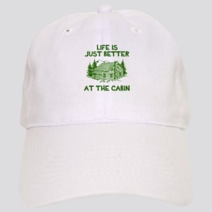 Life is just better at the cabin Baseball Cap