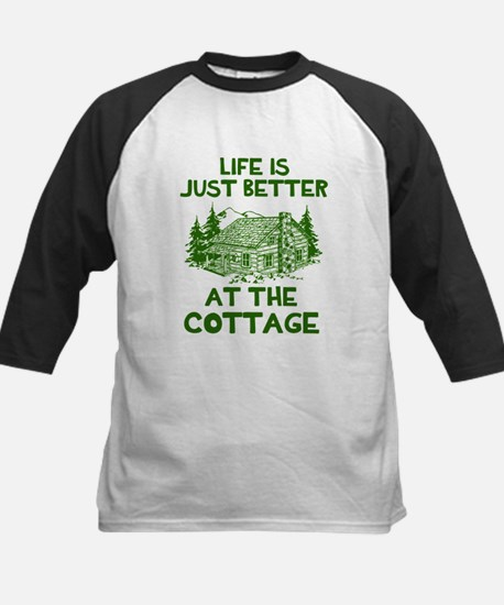 Life is just better at the cottage Baseball Jersey