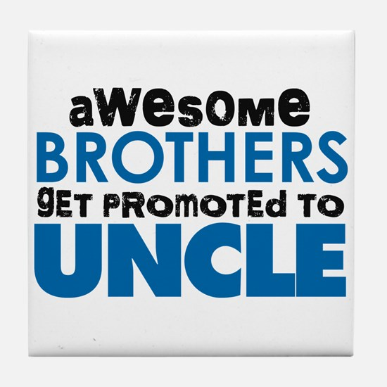 Awesome Brothers Get Promoted to Uncle Tile Coaste